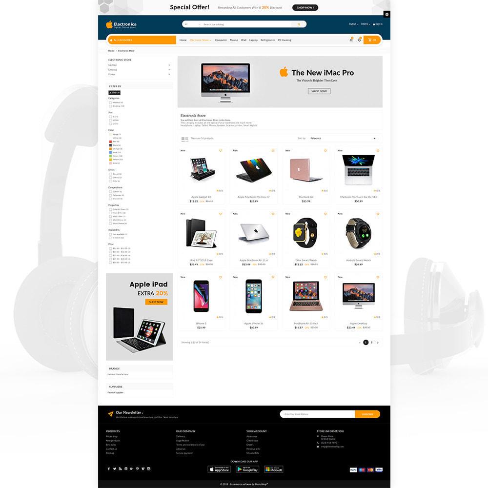 theme - Electronique & High Tech - Electronica – Electronic Multipurpose Store - 3