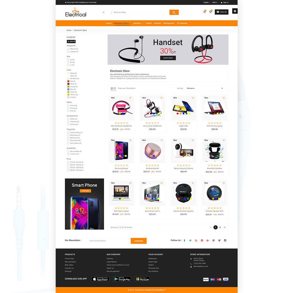 theme - Electrónica e High Tech - Electrical – Electronic Mega Super Store - 3