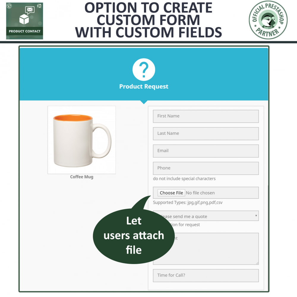 module - Contact Forms & Surveys - Product Inquiry - Contact Form - 4