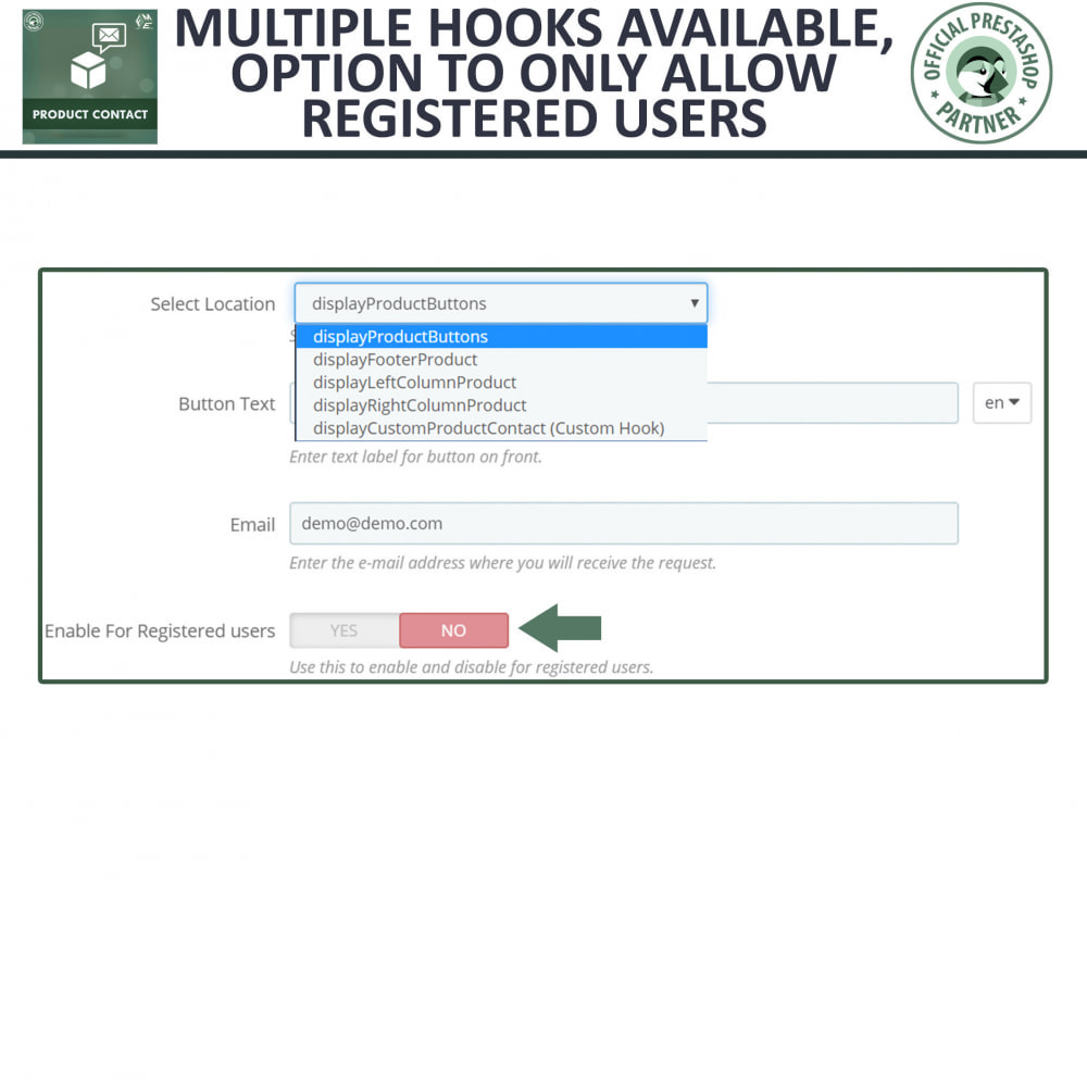 module - Contact Forms & Surveys - Product Inquiry - Contact Form - 6