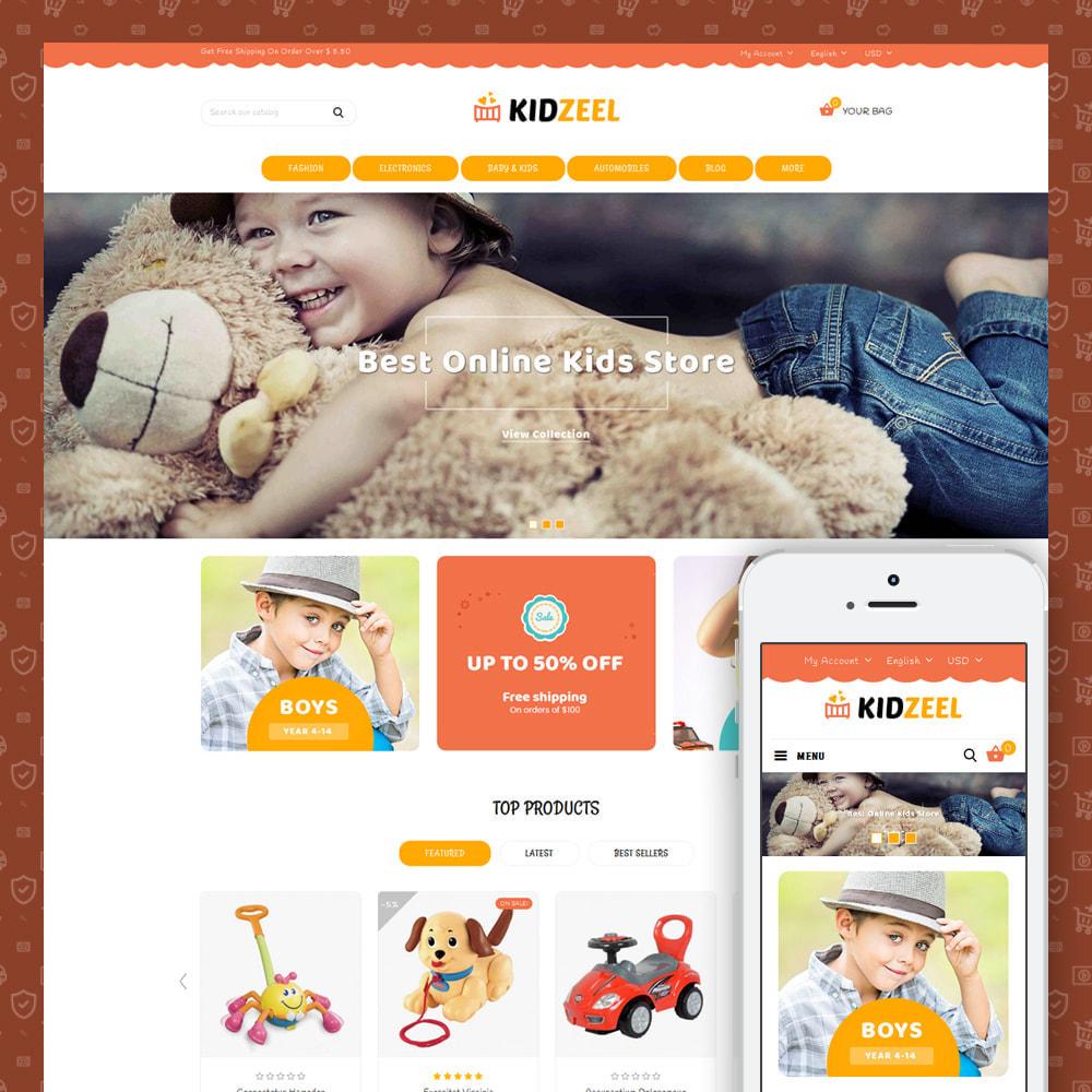 theme - Kids & Toys - KidZeel - Toys Store - 1