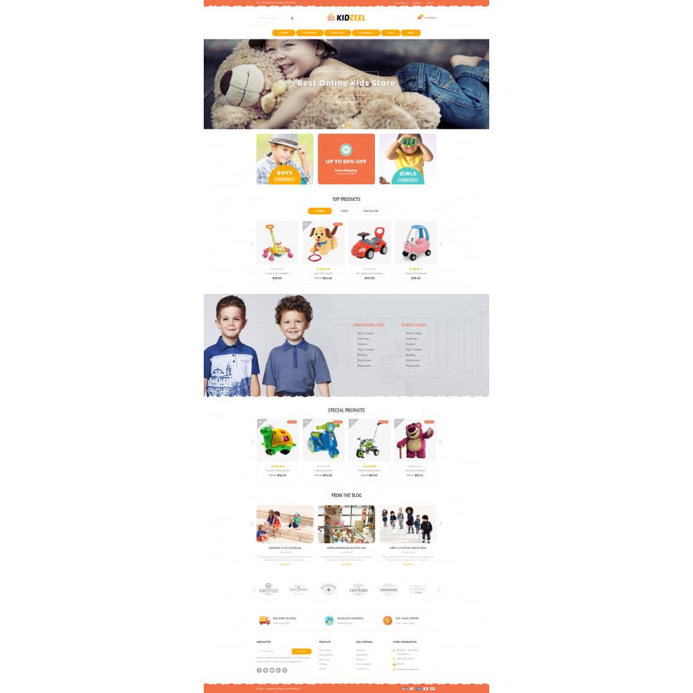 theme - Kids & Toys - KidZeel - Toys Store - 2