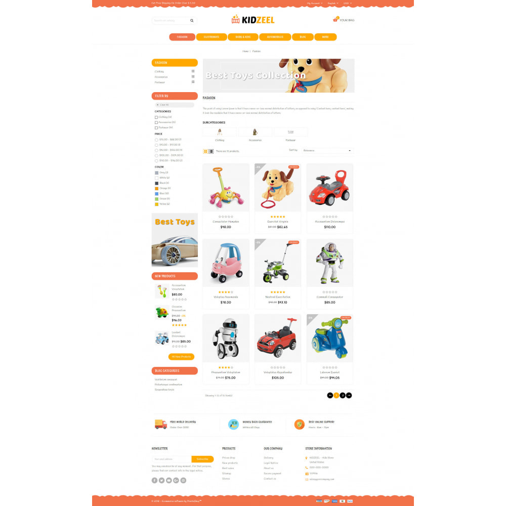 theme - Kids & Toys - KidZeel - Toys Store - 3