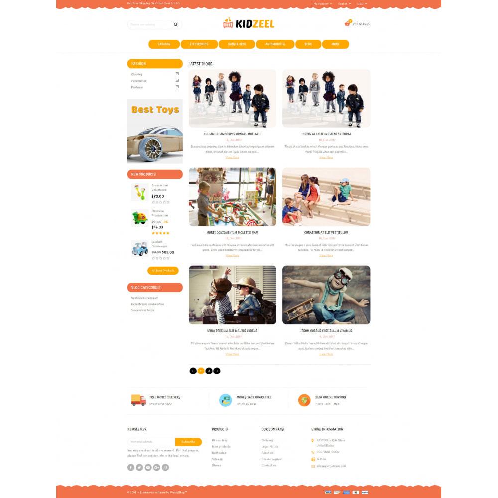theme - Kids & Toys - KidZeel - Toys Store - 9