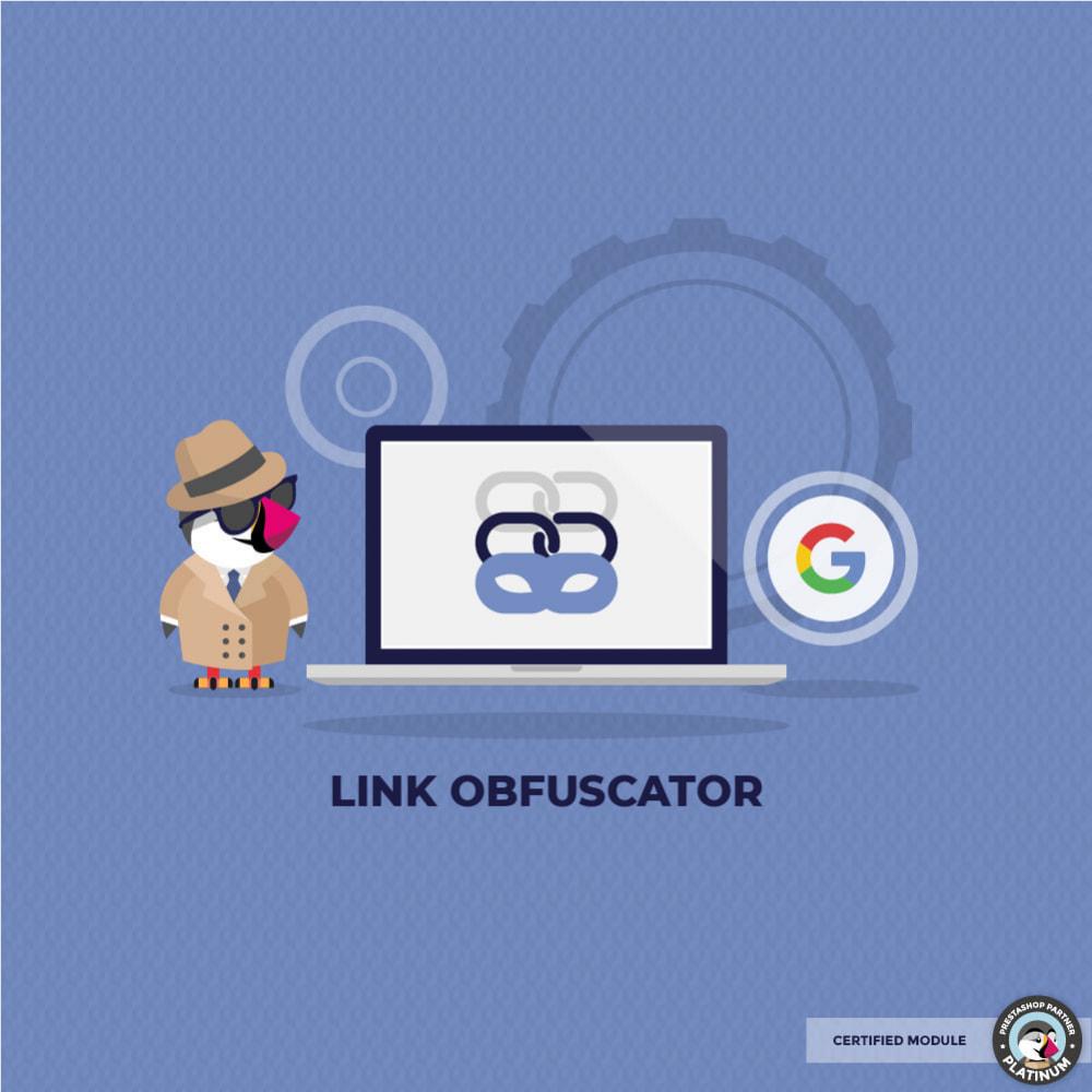 module - Gestão de URL & Redirecionamento - Link Obfuscator - 1