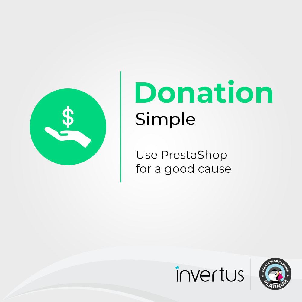module - Altri Metodi di Pagamento - Donations Simple - Charity - 1