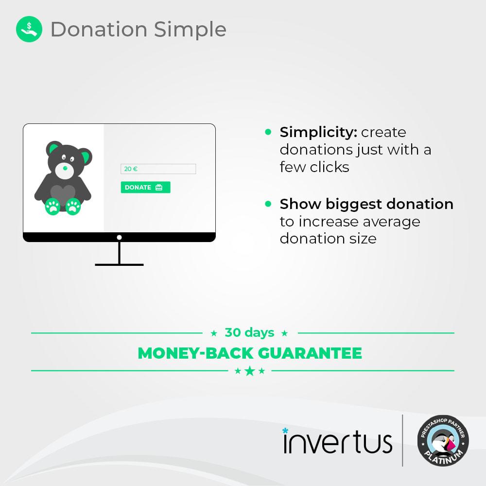 module - Altri Metodi di Pagamento - Donations Simple - Charity - 2