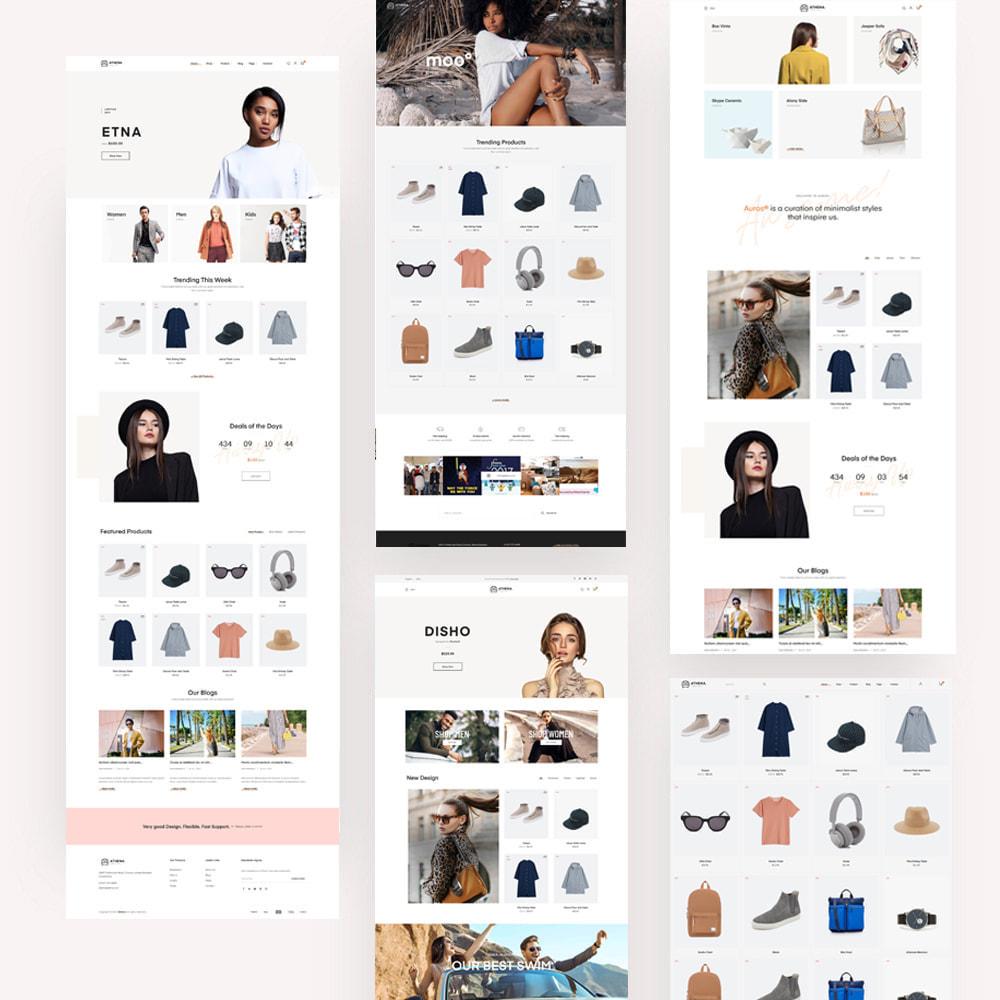 theme - PrestaShop Templates - Athena Fashion - Clothes & Shoes, Jewelry - 1