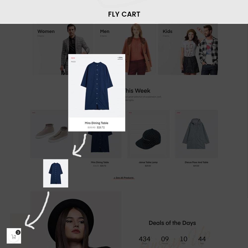 theme - PrestaShop Templates - Athena Fashion - Clothes & Shoes, Jewelry - 2