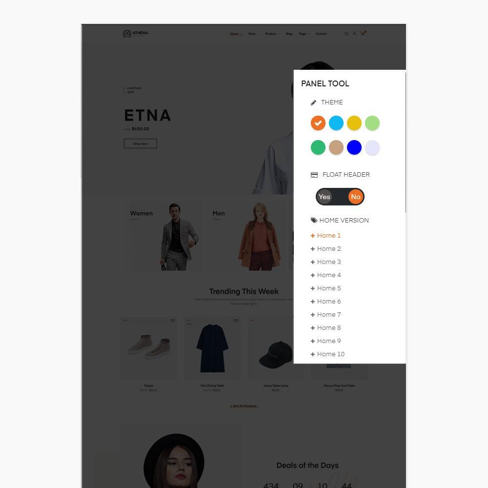 theme - PrestaShop Templates - Athena Fashion - Clothes & Shoes, Jewelry - 4