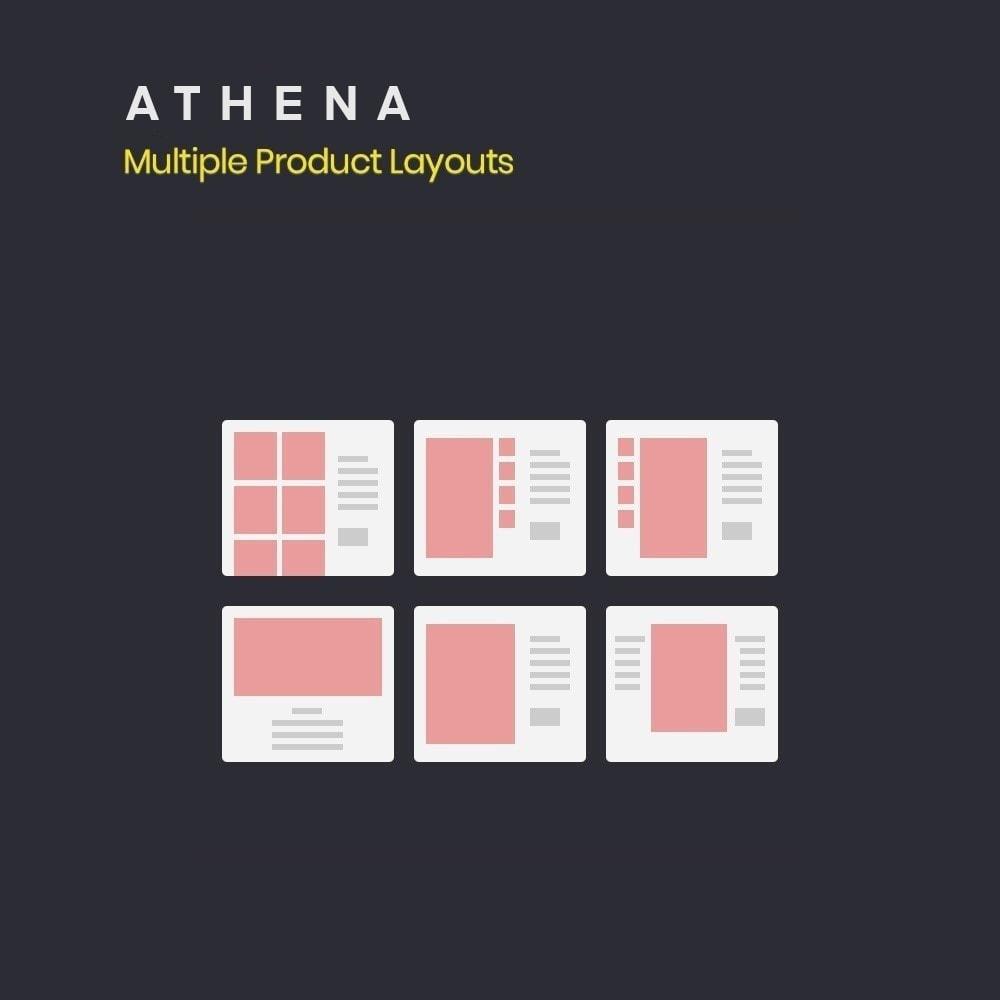 theme - PrestaShop Templates - Athena Fashion - Clothes & Shoes, Jewelry - 10