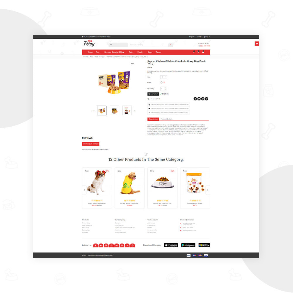 theme - PrestaShop thema's - Petoy – Pets and Animal Store - 4