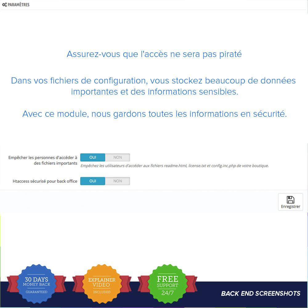 module - Sécurité & Accès - Sécurité facile / Anti SQL Injection PRO - 3