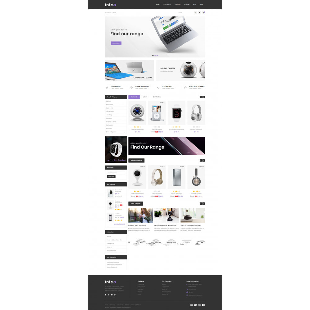 theme - Electronics & Computers - Infex - Electronic Store - 2