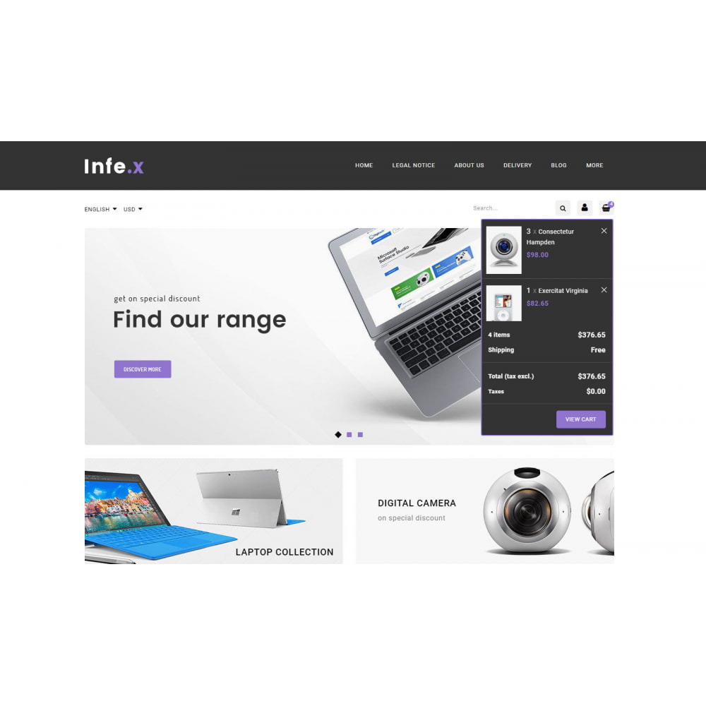 theme - Electronics & Computers - Infex - Electronic Store - 8