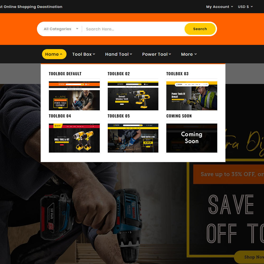 theme - Electronics & Computers - ToolBox - Drill Tools & Equipment - 13
