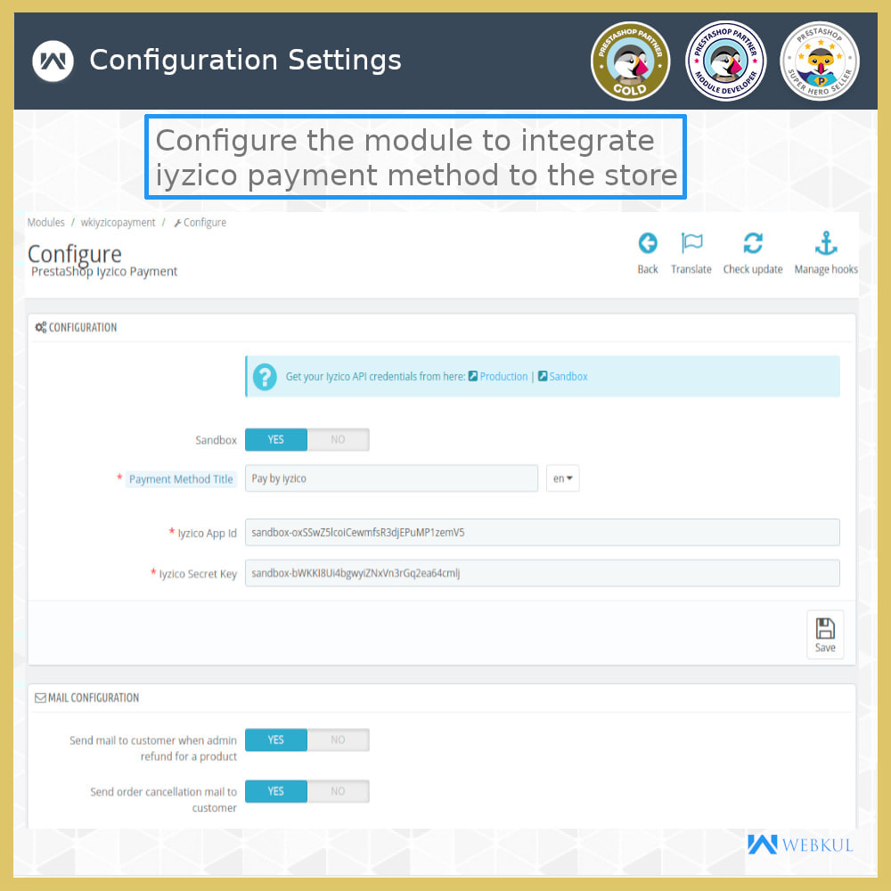 module - Payment by Card or Wallet - Iyzico Payment Gateway - 10