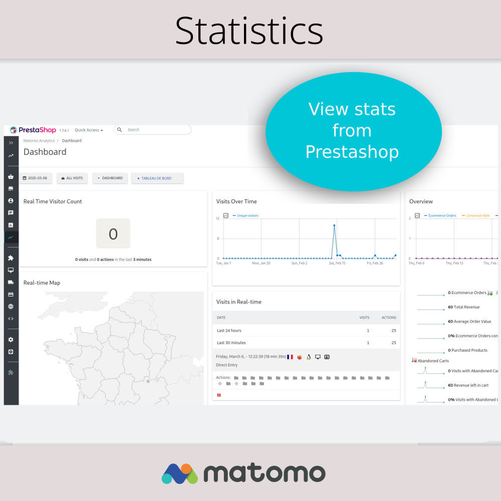 module - Analytics & Statistics - Matomo Analytics Pro - GDPR Compliant - 2