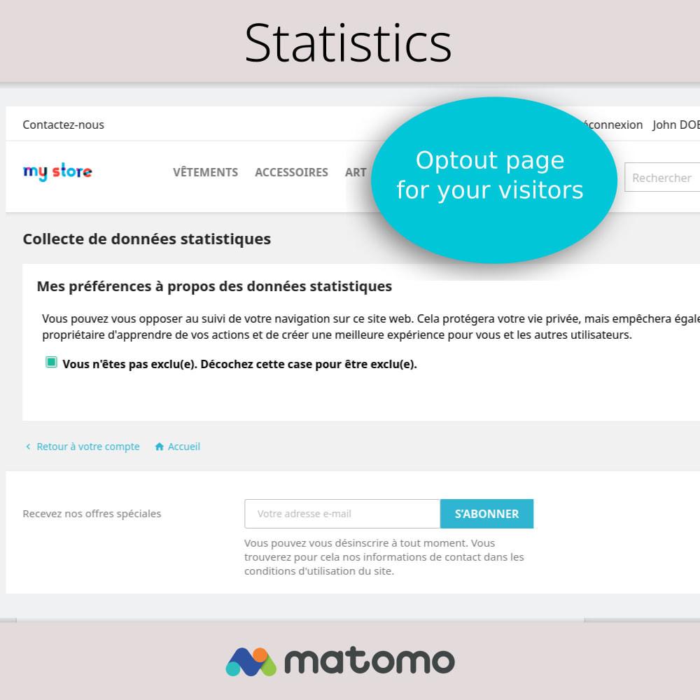 module - Analytics & Statistics - Matomo Analytics Pro - GDPR Compliant - 4