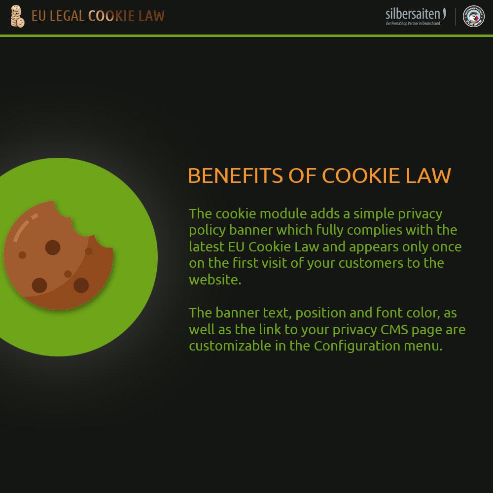 module - Législation - Cookie Law - 1