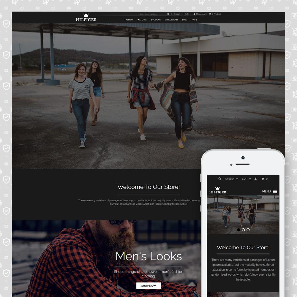 theme - Мода и обувь - Hilfiger - Fashion Store - 1