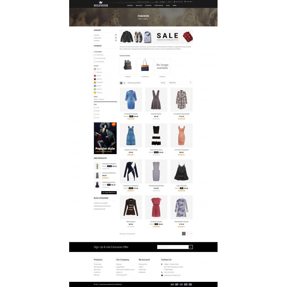 theme - Мода и обувь - Hilfiger - Fashion Store - 3