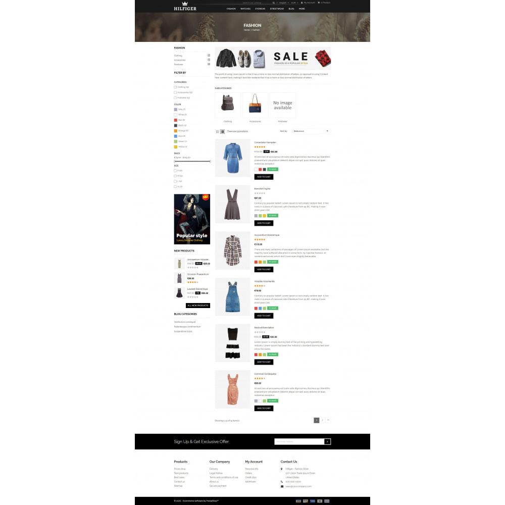 theme - Мода и обувь - Hilfiger - Fashion Store - 4