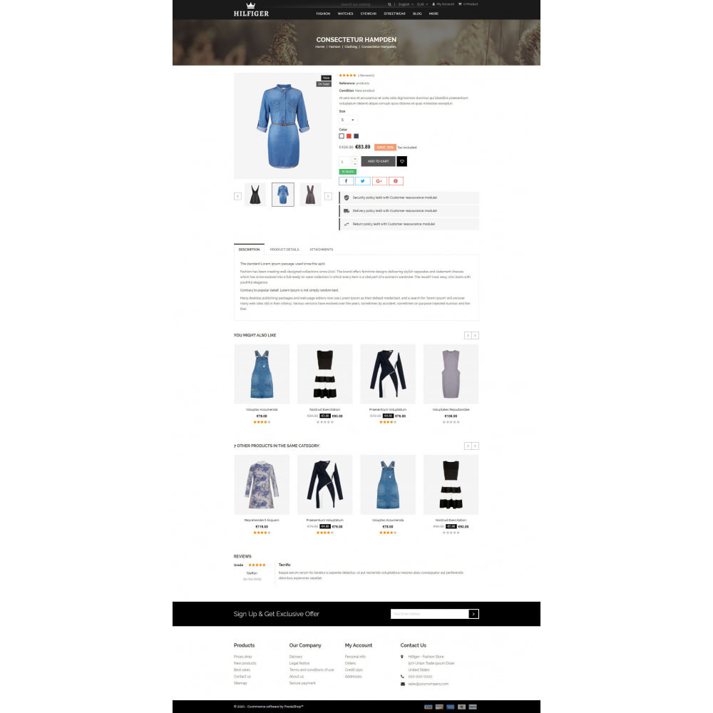 theme - Мода и обувь - Hilfiger - Fashion Store - 5