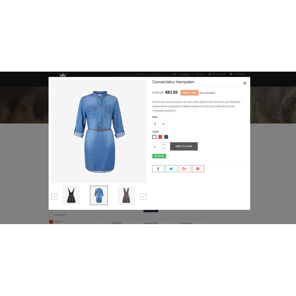 theme - Мода и обувь - Hilfiger - Fashion Store - 7