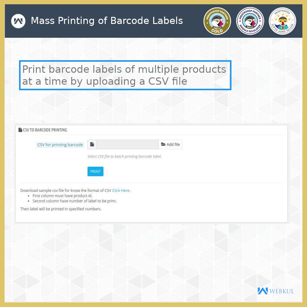 module - Voorbereiding & Verzending - Product Barcode Label | Barcode Generator - 8