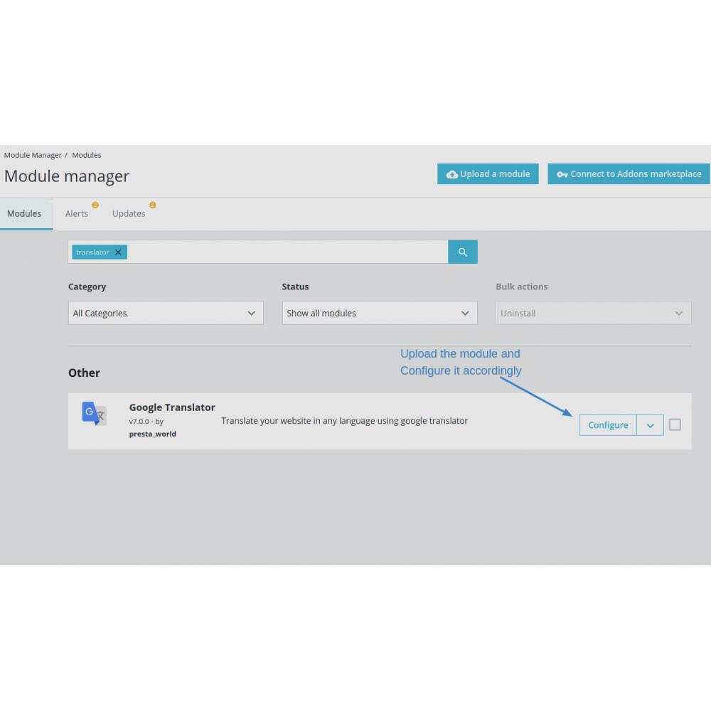module - International & Localisation - Language Translator by Google - 1