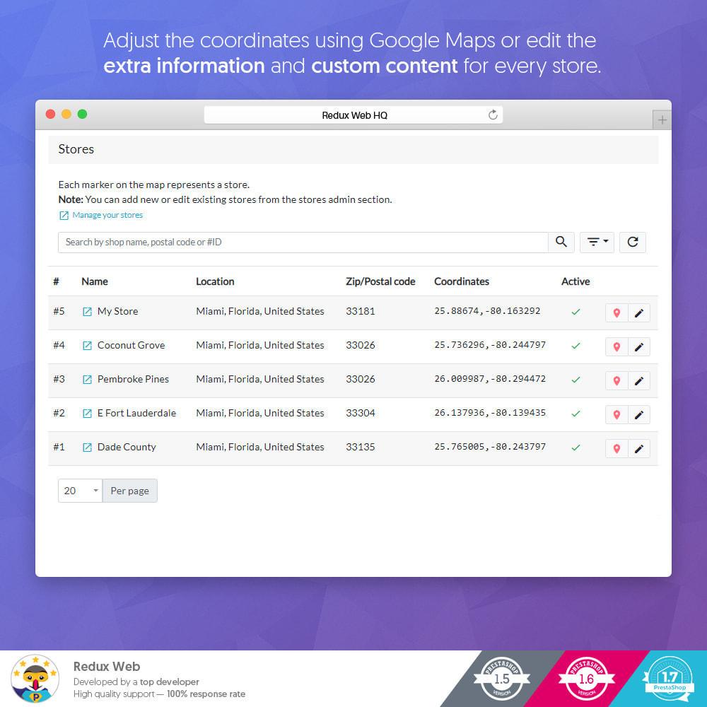 module - Internationaal & Lokalisatie - Geavanceerde Store Map - Google Maps - 11