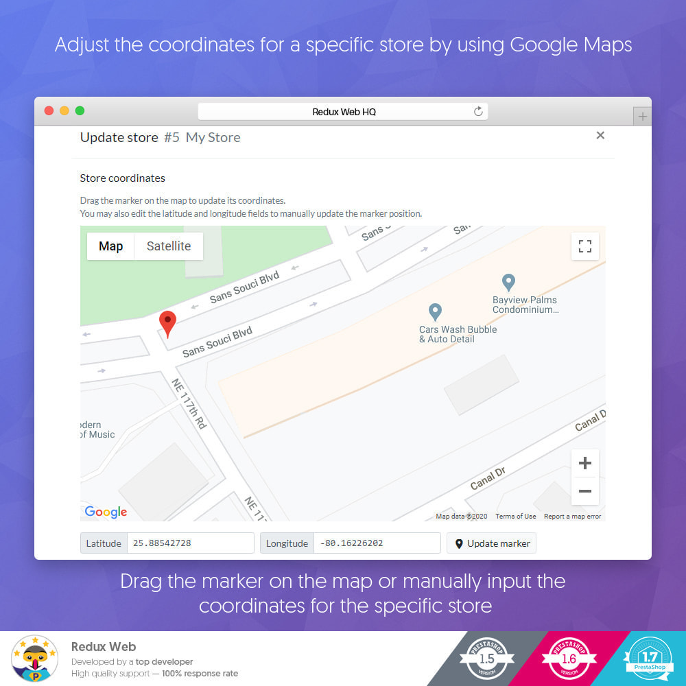 module - Internationaal & Lokalisatie - Geavanceerde Store Map - Google Maps - 12