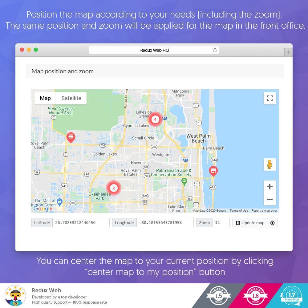 module - Internationaal & Lokalisatie - Geavanceerde Store Map - Google Maps - 14
