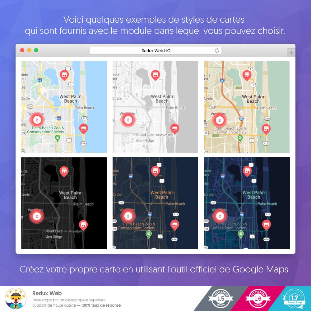 module - International & Localisation - Cartes Avancées pour les Boutiques - Google Maps - 6