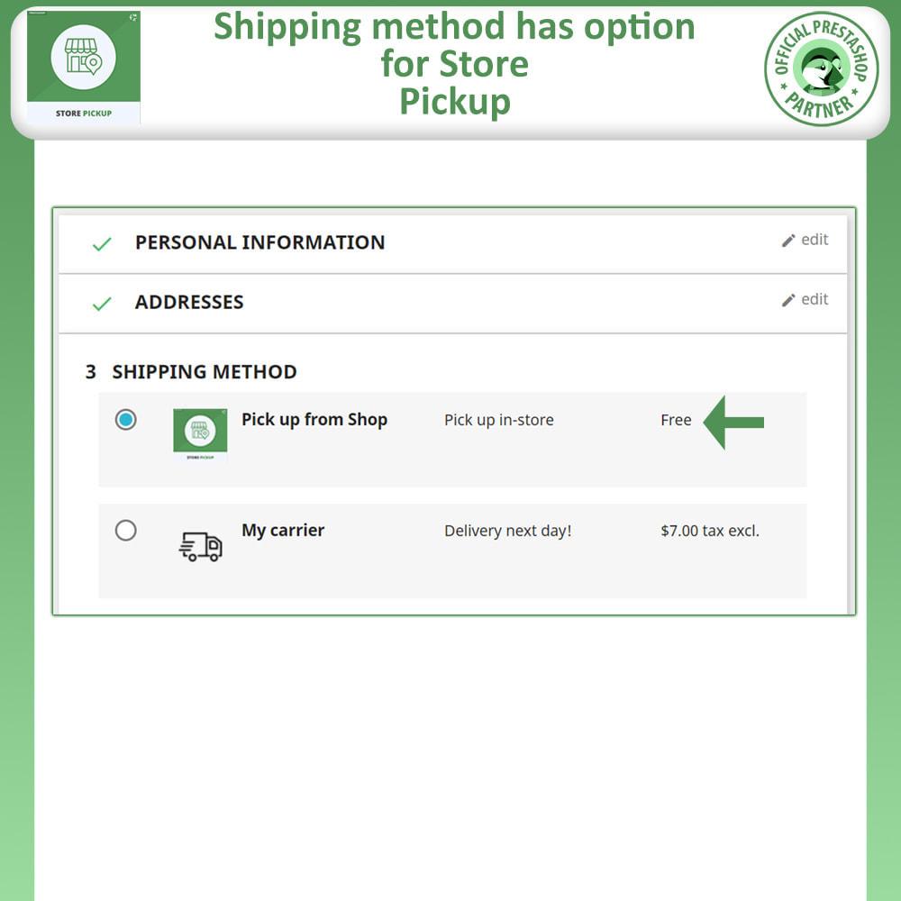 module - Pontos de retirada & Retirada na loja - Store Pickup - 3