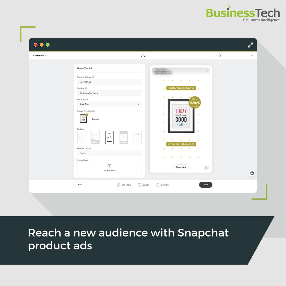 module - Remarketing y Carritos abandonados - Snapchat Ads + Pixel - 1