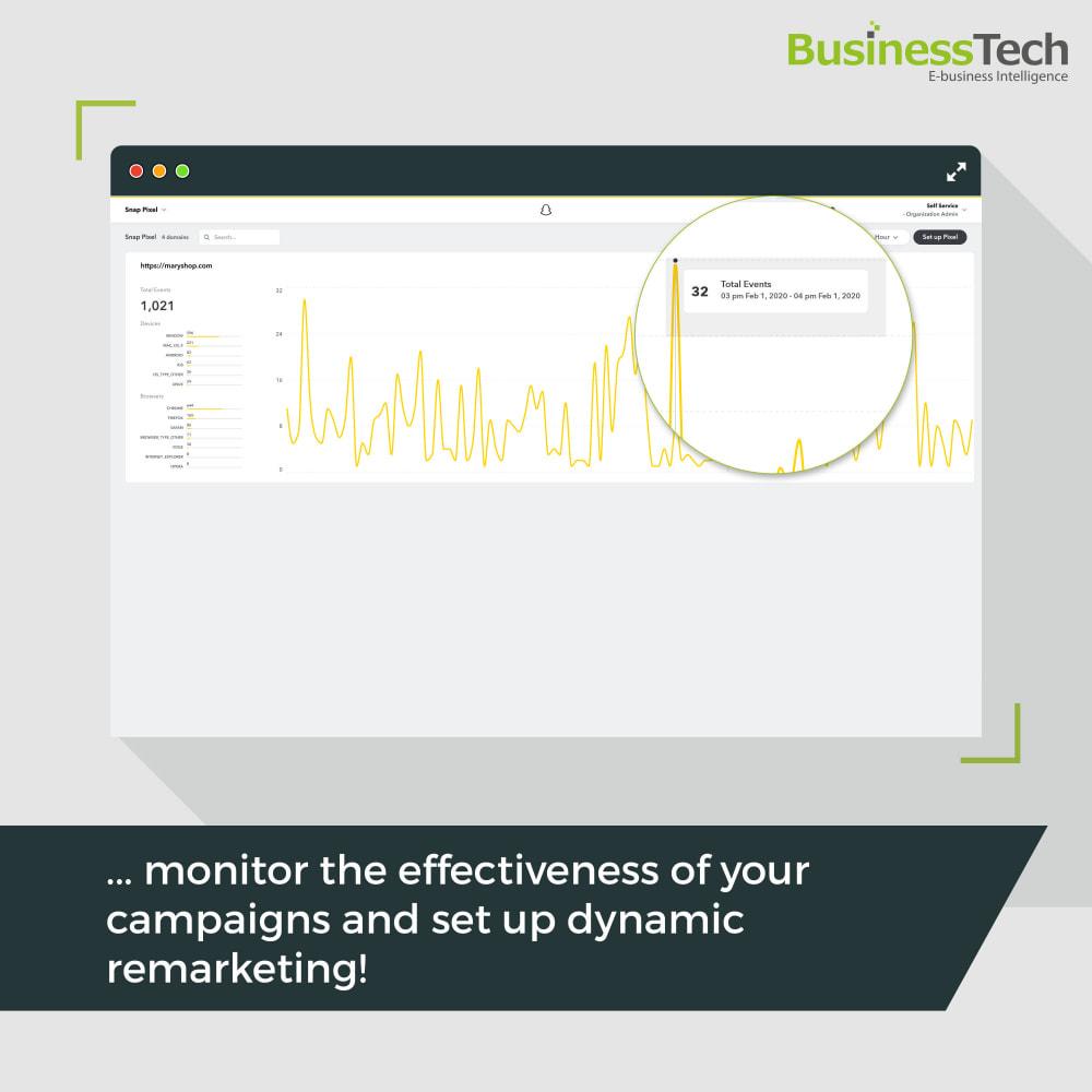 module - Remarketing y Carritos abandonados - Snapchat Ads + Pixel - 8