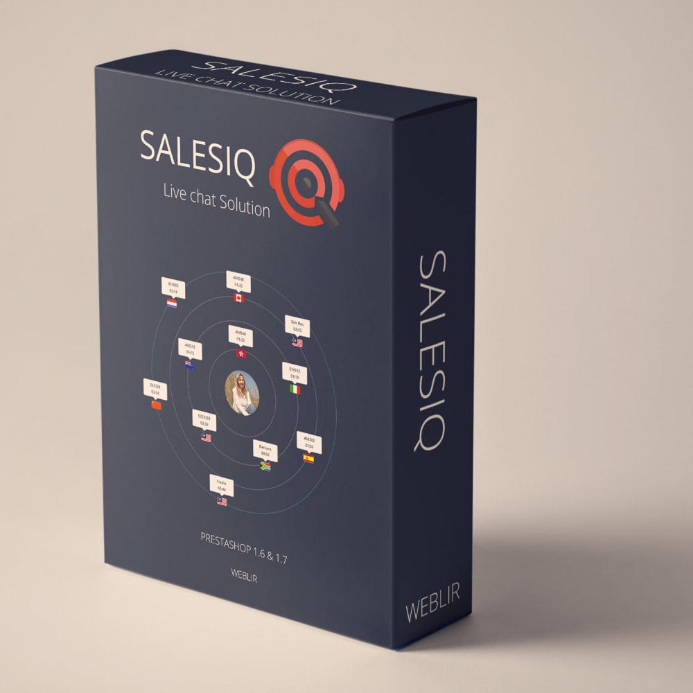 module - Поддержка и онлайн-чат - Zoho SalesIQ Live Chat Customer Support with free plan - 1