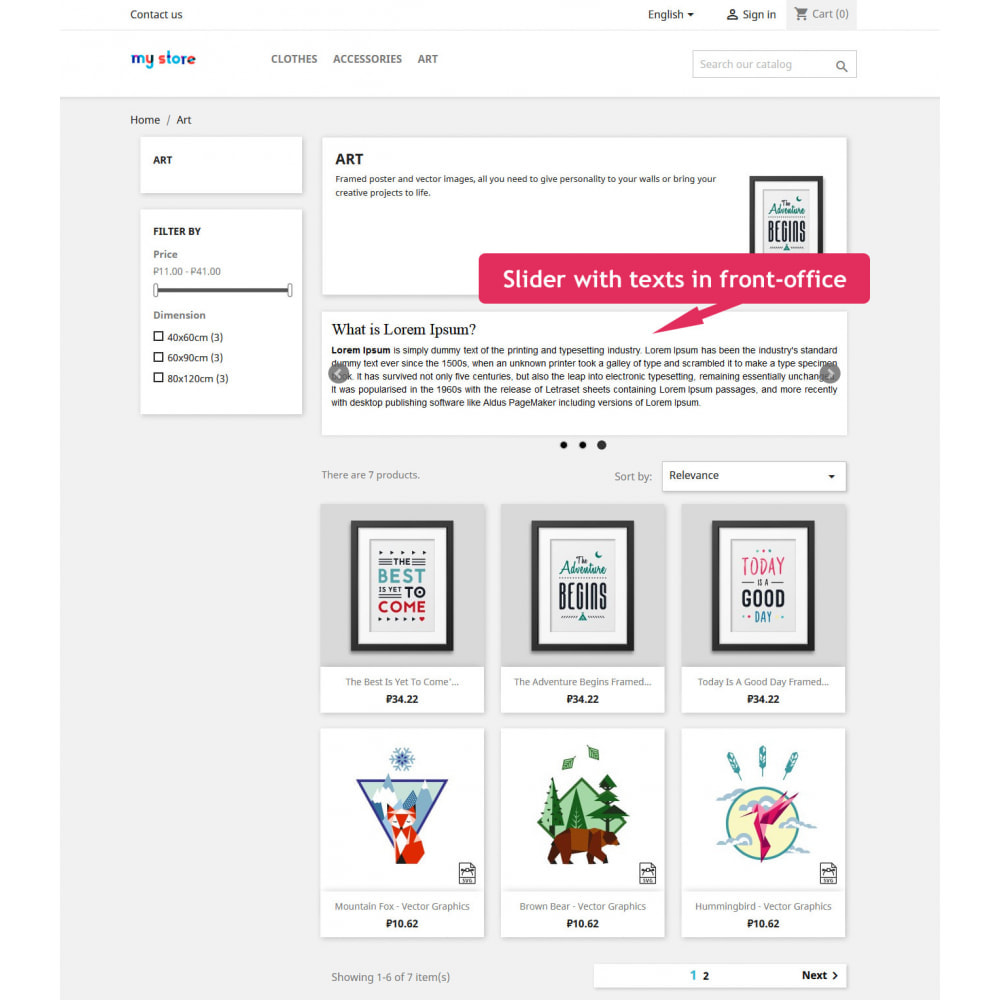 module - Slidery & Galerie - Sliders for category pages - 8