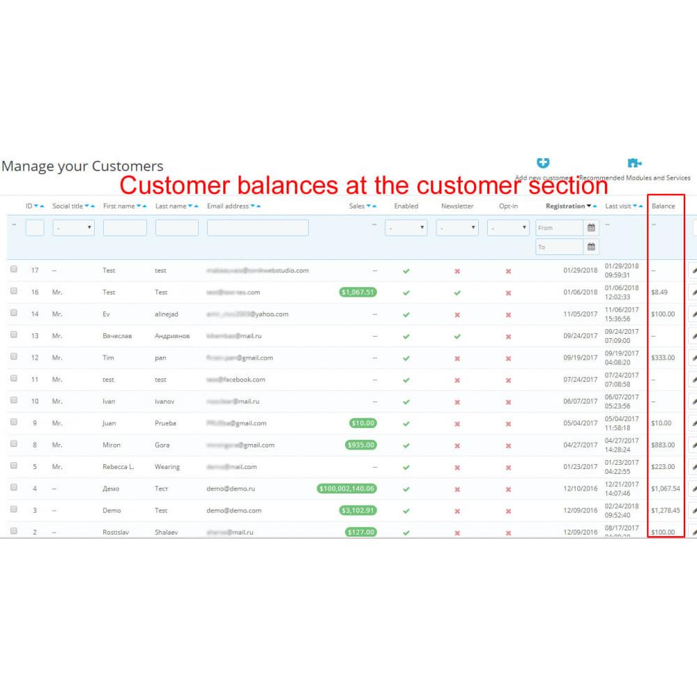 module - Pagamento por cartão ou por carteira - User internal balance UserBalance - 8
