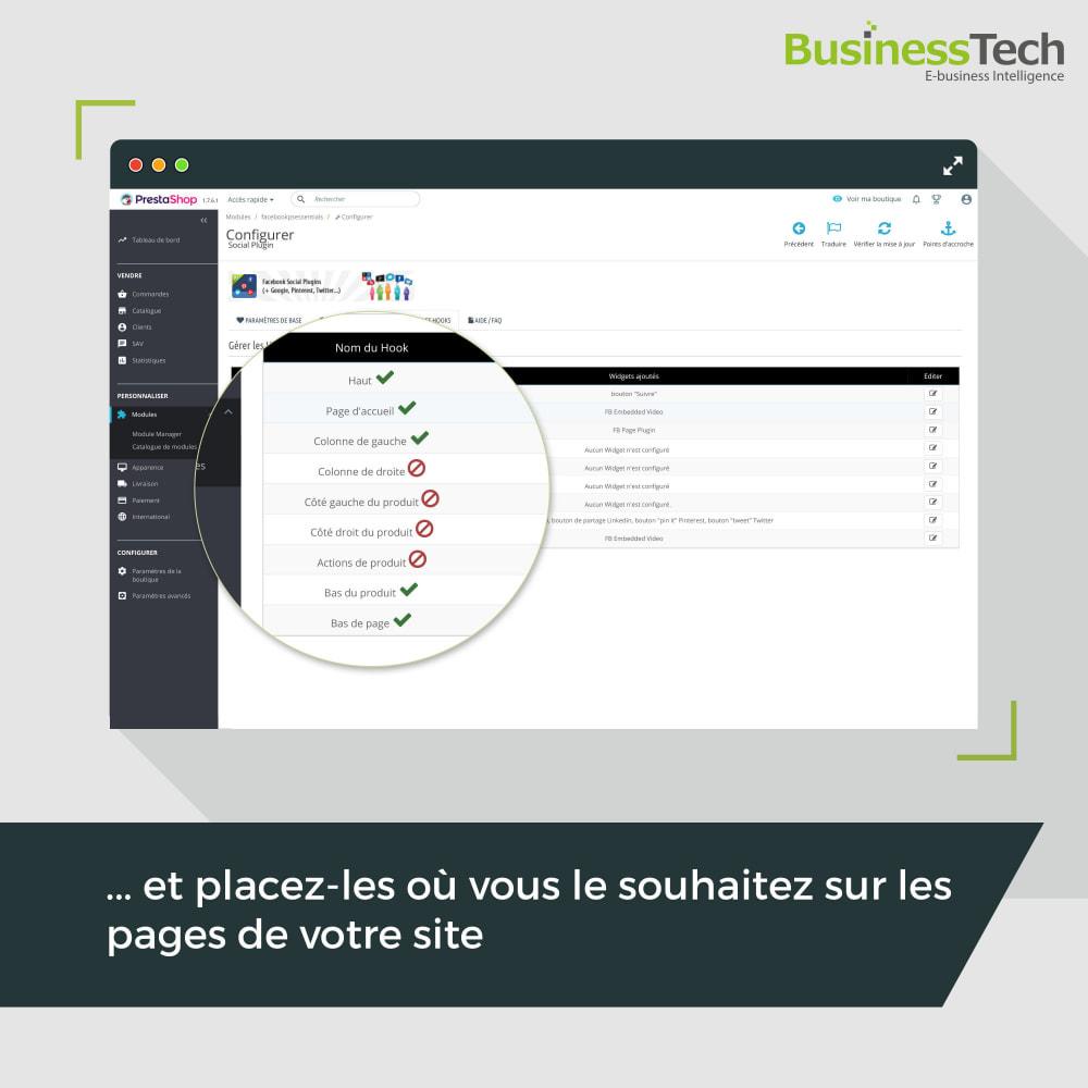 module - Boutons de Partage & Commentaires - Social Plugins - 4