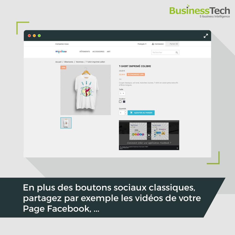 module - Boutons de Partage & Commentaires - Social Plugins - 5