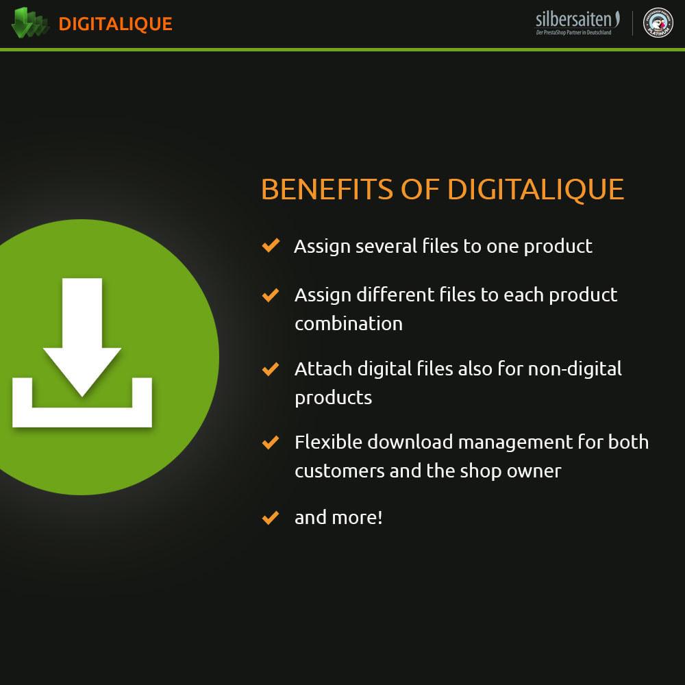 module - Productos Digitales (de descarga) - Gestión de descargas virtuales - 1