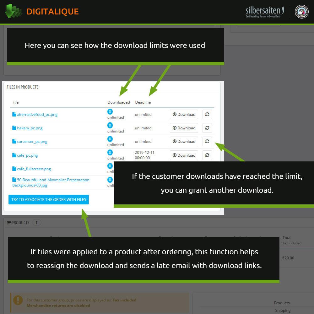 module - Productos Digitales (de descarga) - Gestión de descargas virtuales - 8