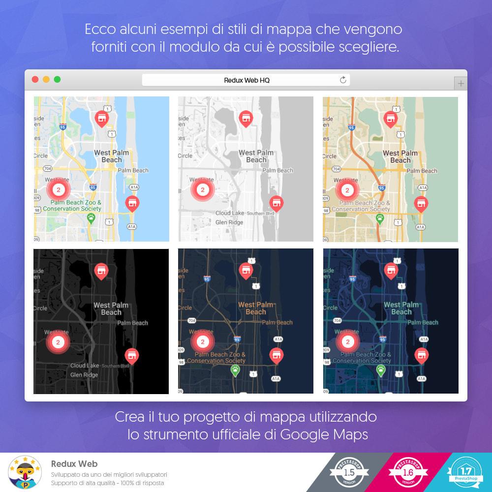 module - Lingue & Traduzioni - Mappa avanzata dei negozio - Google Maps - 5