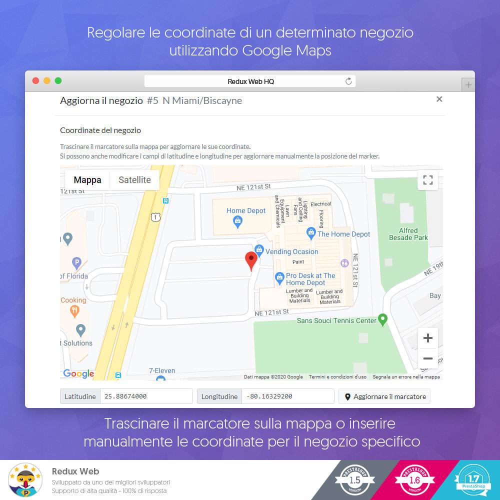 module - Lingue & Traduzioni - Mappa avanzata dei negozio - Google Maps - 11