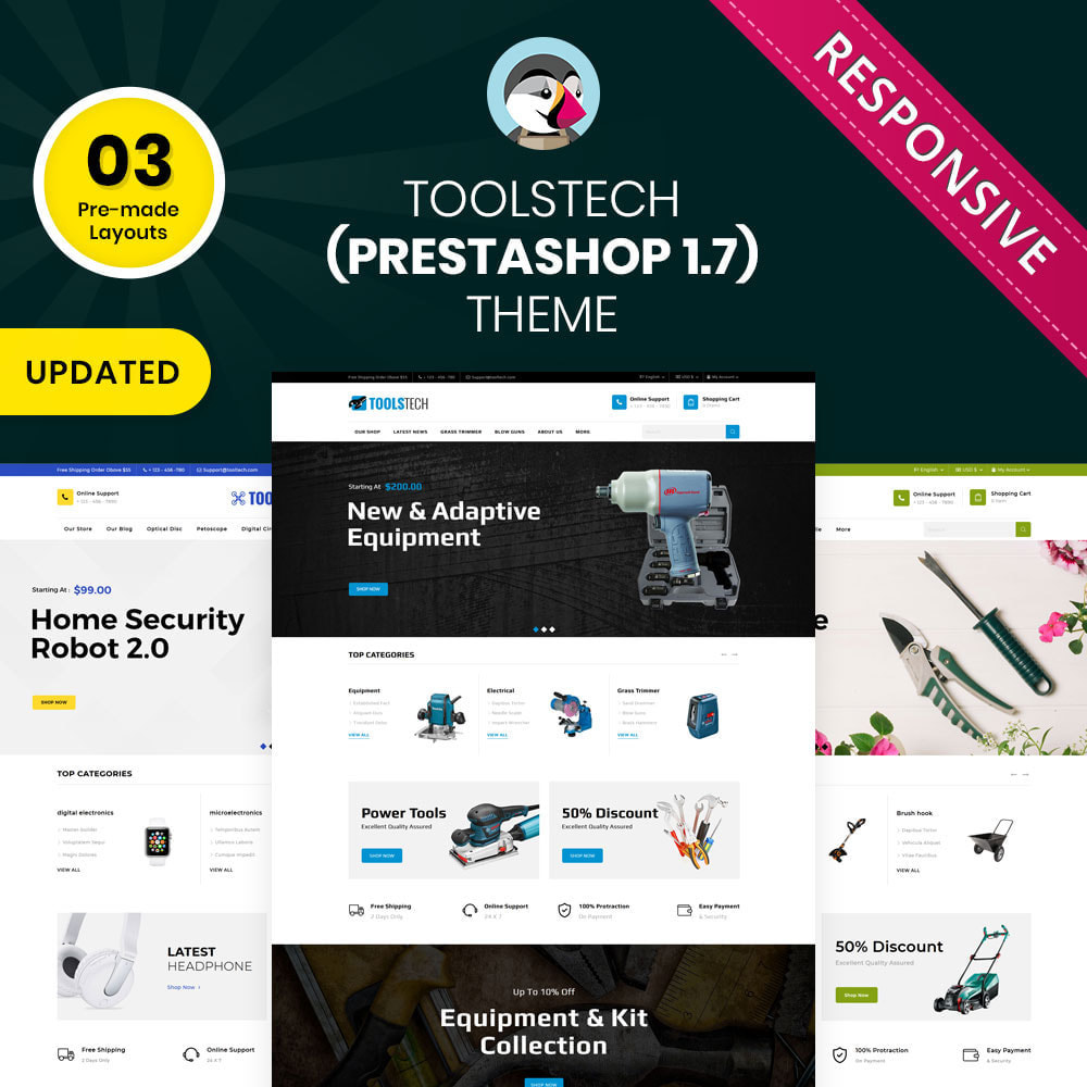 theme - Electronics & Computers - ToolTech - The Tool Store - 1