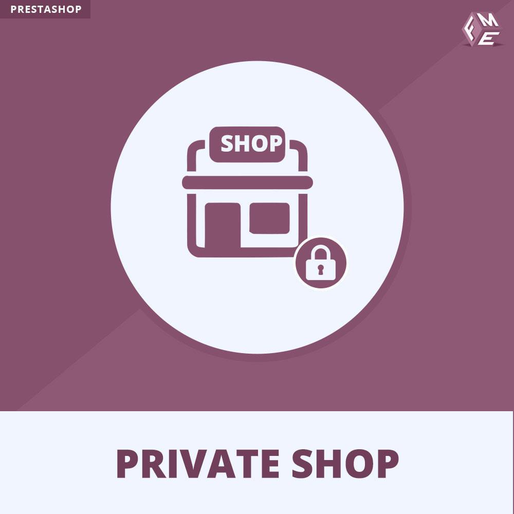 module - Uitverkoop & Besloten verkoop - Prive Winkel - Inloggen om producten te zien/Winkel - 1