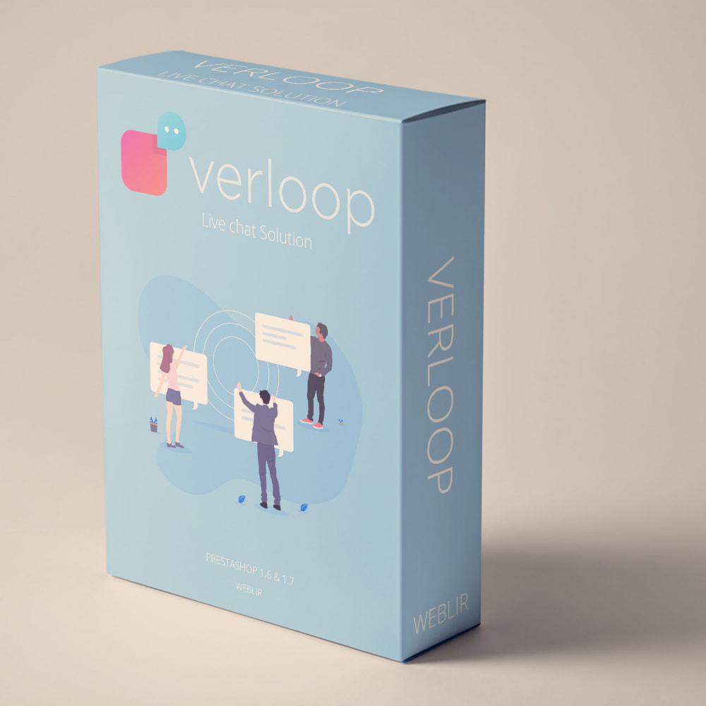 module - Support & Chat Online - Verloop - Free Plan Live Chat - 1